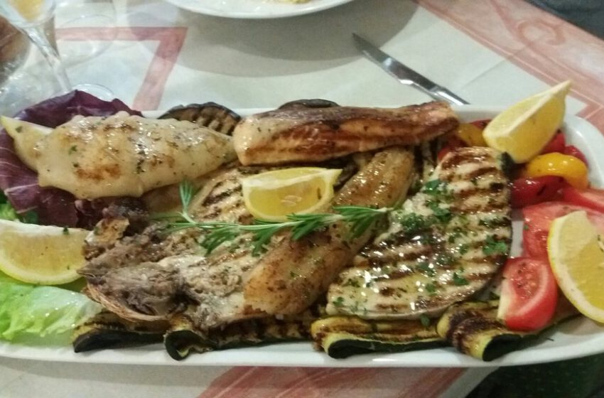 Grigliata di pesce – IL GIARDINO – Cassano Spinola