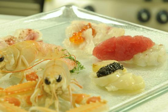 Crudità di pesce-LA BRICOLA IN LAGUNA PALACE HOTEL – Grado