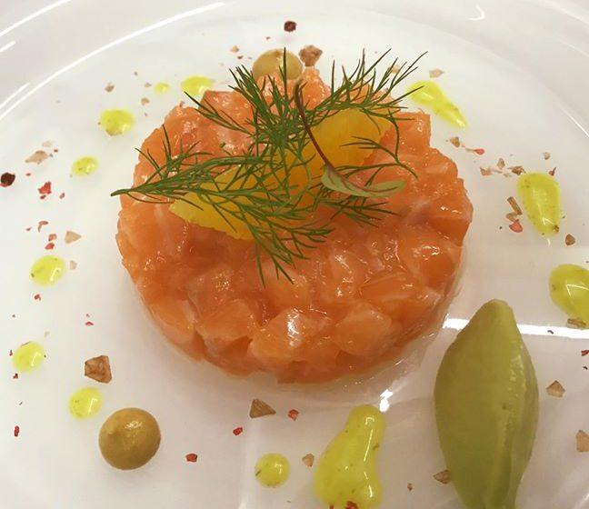 Tartare al salmone – Lostricheria – Bergamo