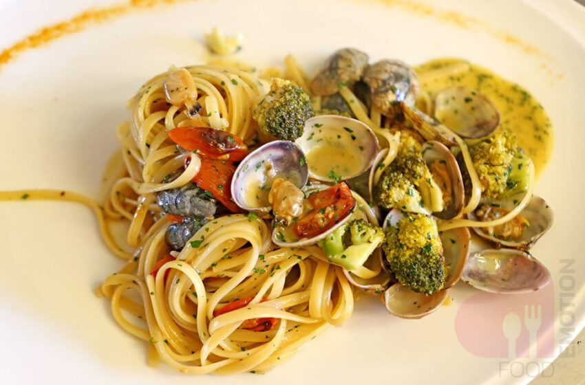Spaghetti alle vongole e pomodorini – San Vigilio – Bergamo