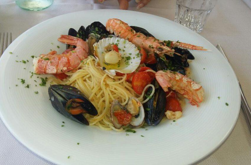 Spaghetti allo scoglio-AL GRANATIERE-Venezia