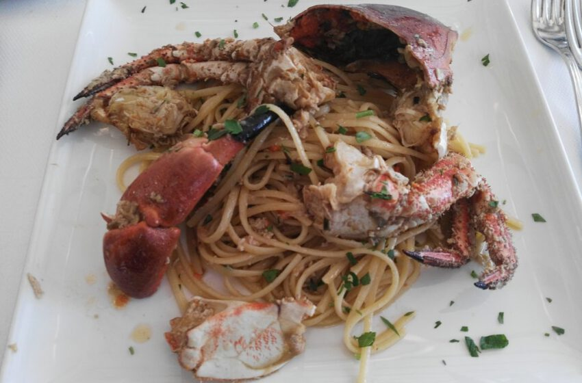 spaghetti all'astice-ALLA FATTORIA-Venezia