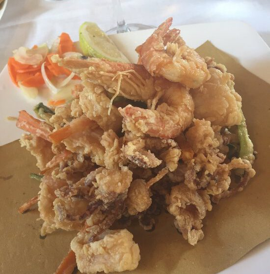 Frittura di pesce-BUCALI' – Montodine
