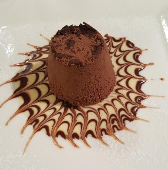 Tortino al cioccolato-CA AMATA