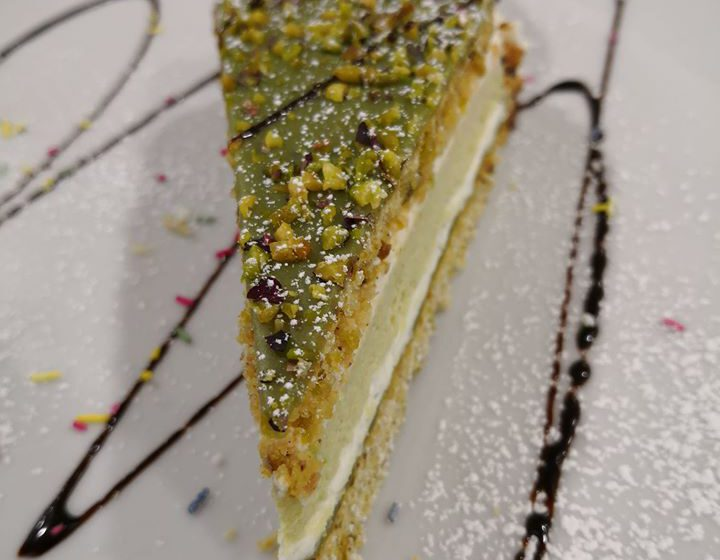Torta al pistacchio-CANTURINA – Cantù