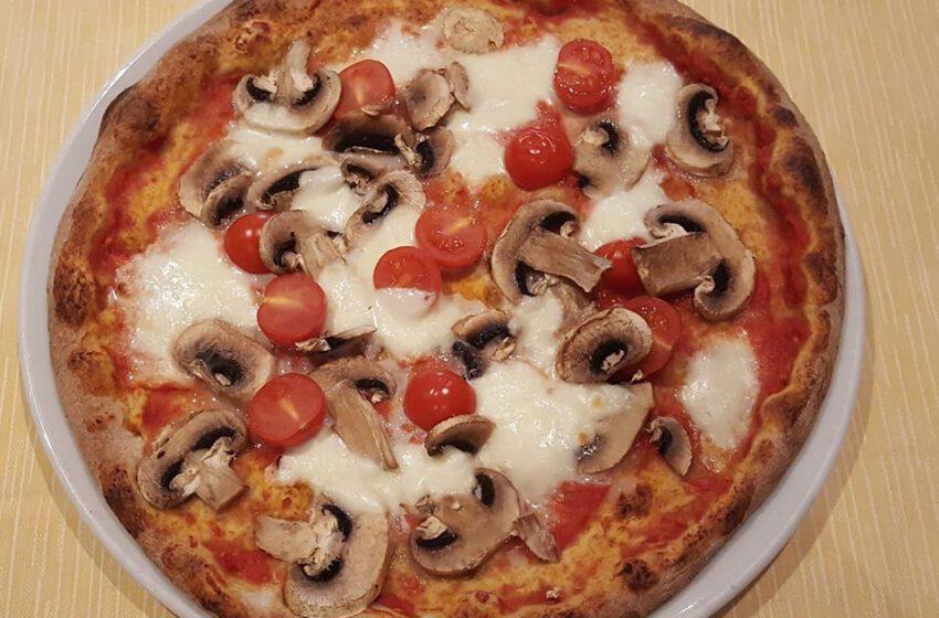 Pizza con farina integrale-CASTELLANI
