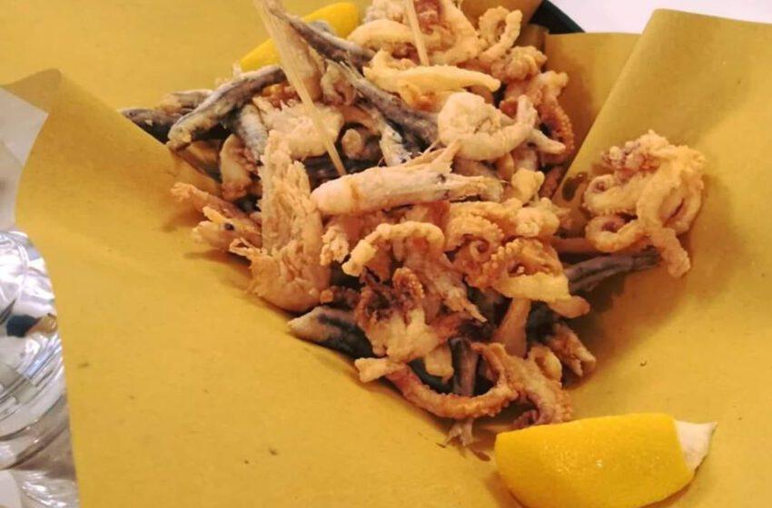Frittura di pesce-DA QUEI DUE OSTERIA