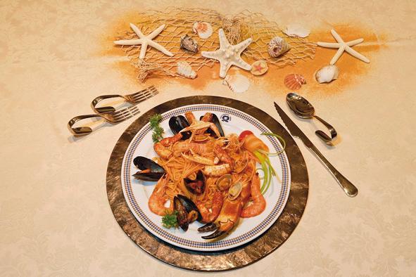 spaghetti alla scogliera-EDEN-Venezia