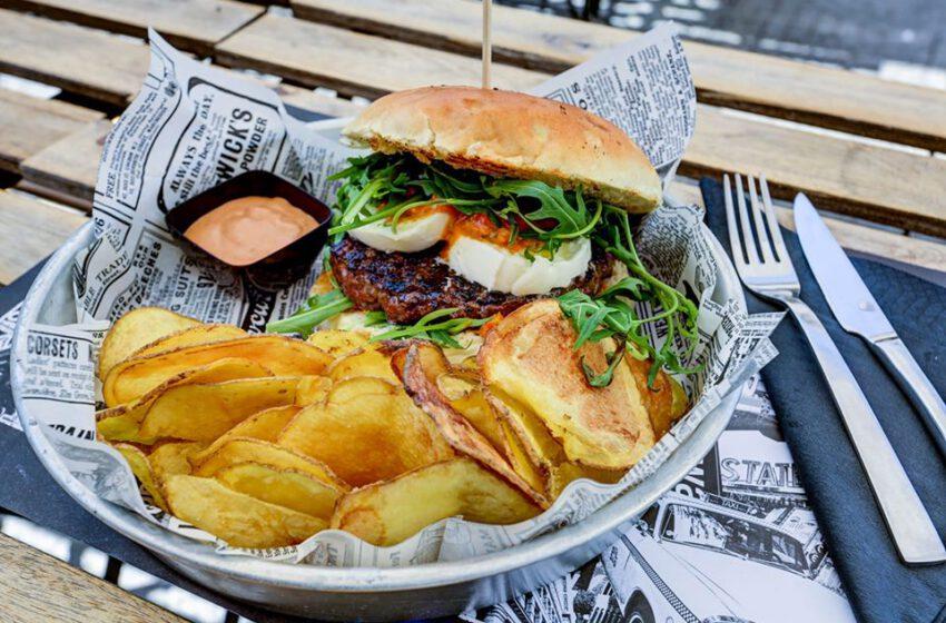 Hamburger con patatine-FAT MAX 2.0