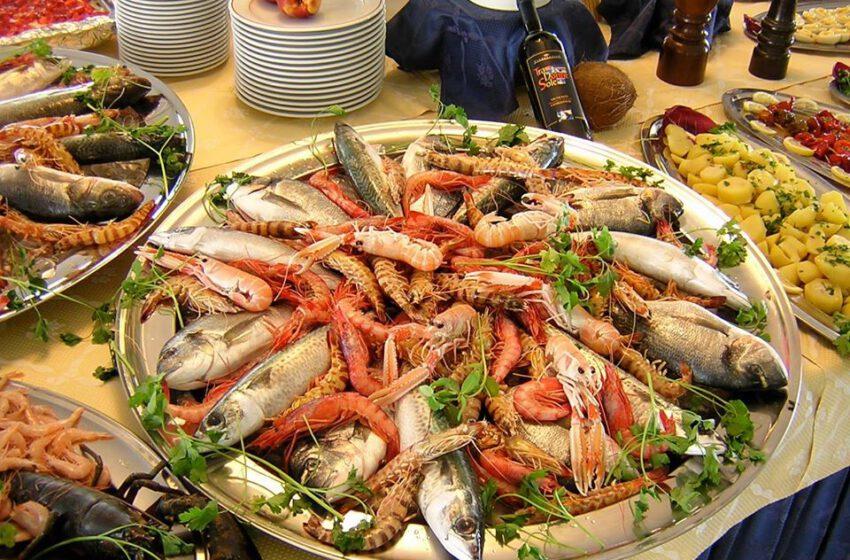 Pesce misto-GRAND HOTEL DEI CESARI