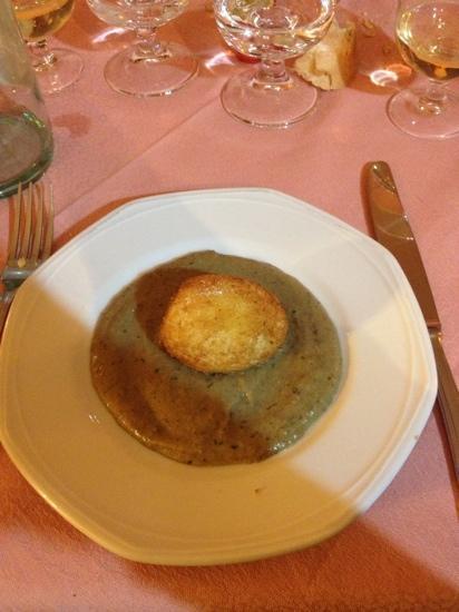 Uovo alla crema di porcini-IL BALMETTO – Torino