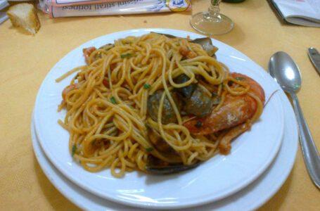 Spaghetti frutti di mare-IL GRILLO – Torino