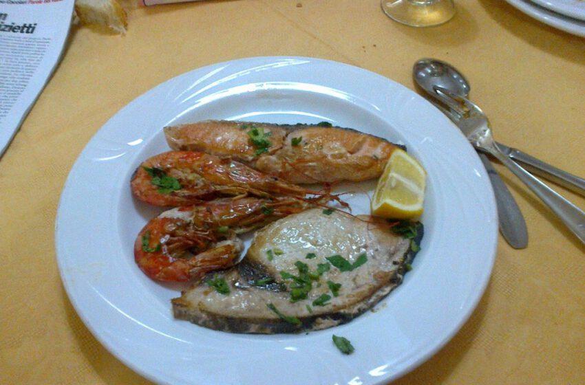 Grigliata di pesce-IL GRILLO – Torino
