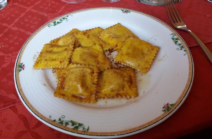 agnolotti di zucca al profumo di cannella-ITALIA-Vercelli