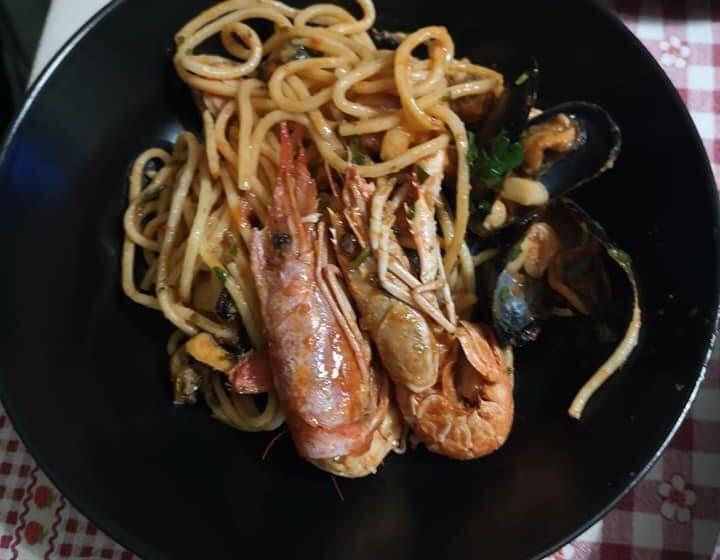 Spaghetti allo scoglio-LA CASETTA