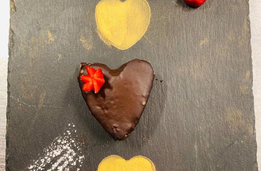Tortino al cioccolato-LA MADONNINA  – Barni