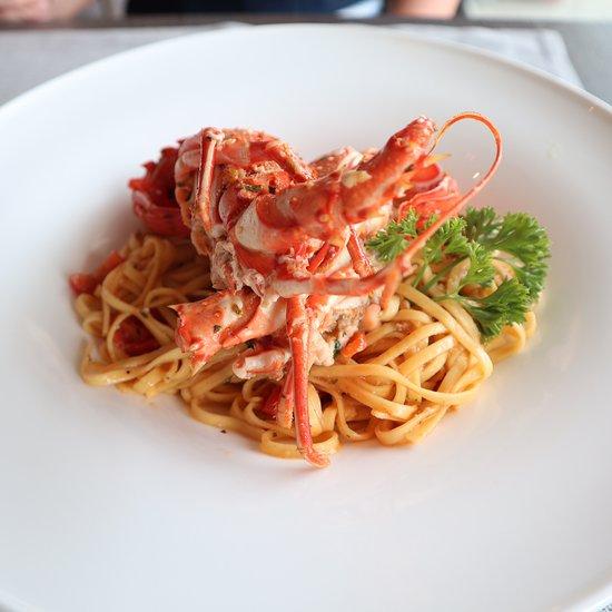 spaghetti all'astice-MATTARELLO RISTORANTE-Venezia