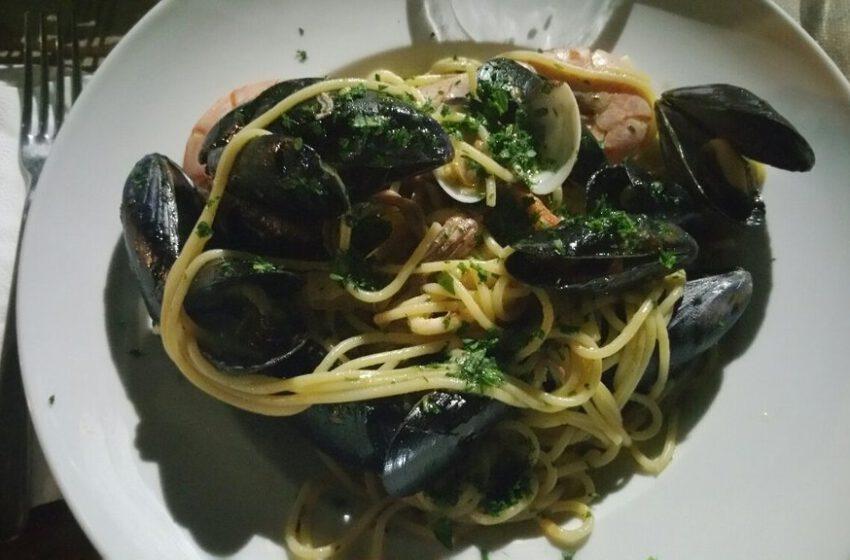 Spaghetti ai frutti di mare-OSTERIA NEREA