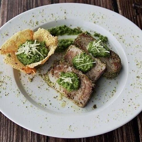 Tagliata con salsa verde-PAGNANELLI