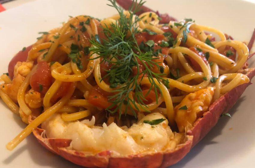 Spaghetti al sugo di pesce-PLINIO – Arosio