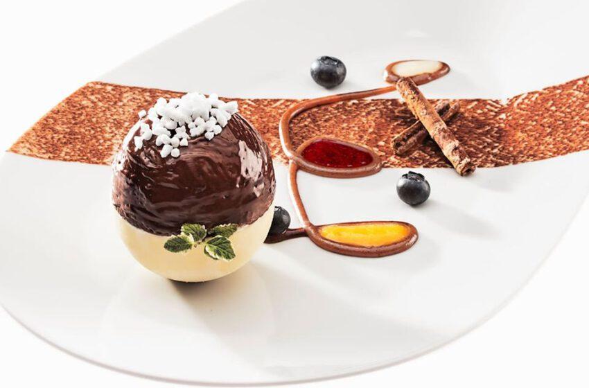 Doppia sfera al cioccolato-SALICE BLU – Bellagio