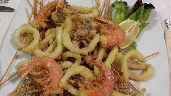 Frittura di pesce-SAN MARTINO RISTORANTE – Torino