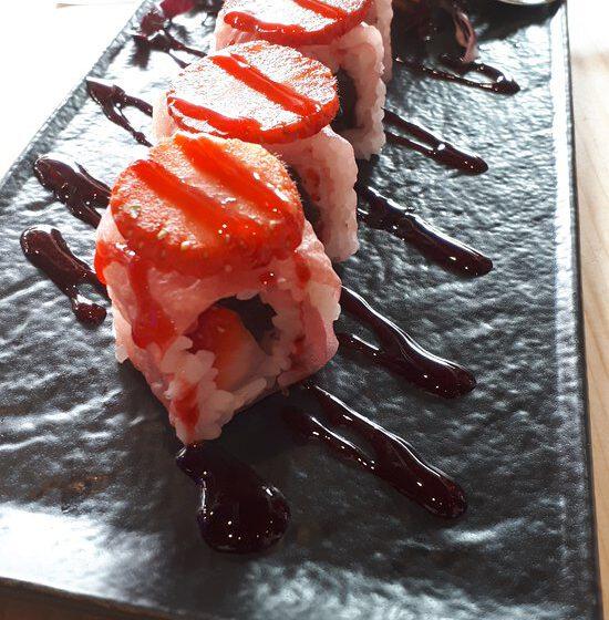 Sushi con fragole-SUSHIKO – Cremona