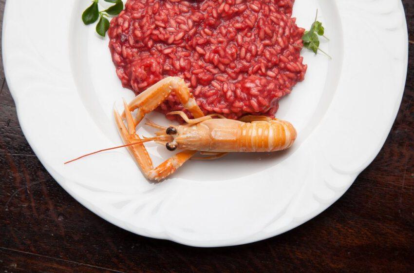 risotto con scampi-VILLA DUCALE-Venezia