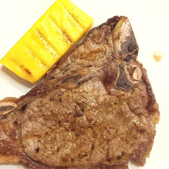 bistecca con polenta – DA FRANCO